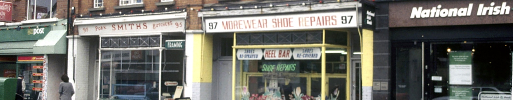 Shops on Terenure Road North